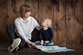 Image result for parents child doing something together